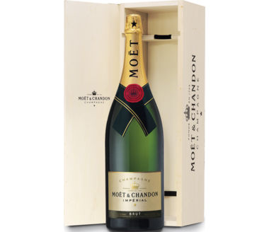Moet Chandon Brut Imperial Methusalem (in der Holzkiste!)