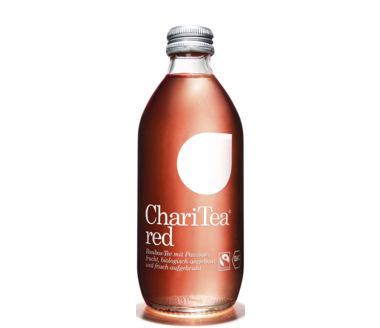 ChariTea Red Bio Rooibos-Tee mit Passionsfrucht