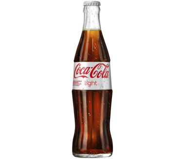 Coca-Cola light Glasflasche