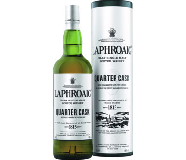 Laphroaig Islay Malt Scotch Quarter Cask