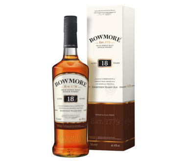 Bowmore 18 Years old Single Islay Malt Scotch Whisky