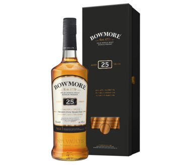 Bowmore 25 Years old Single Islay Malt Scotch Whisky