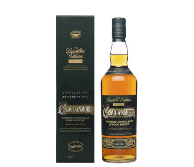 Cragganmore Distillers Edition Single Speyside Malt Scotch W Edition 2015