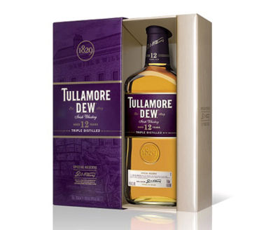 Tullamore Dew 12 Years Old Special Reserve Irish Whisky