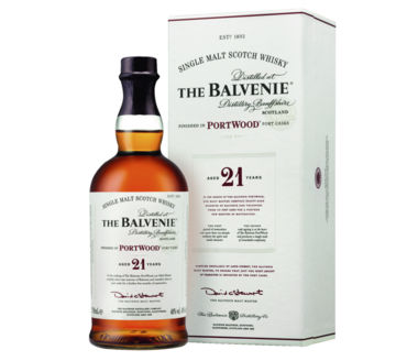 The Balvenie >21 Years old< Port Wood Single Malt Scotch Whisky