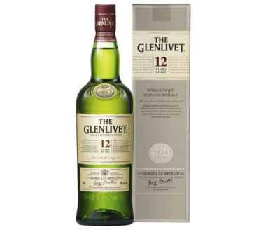 The Glenlivet >12 Years old< Single Malt Whisky