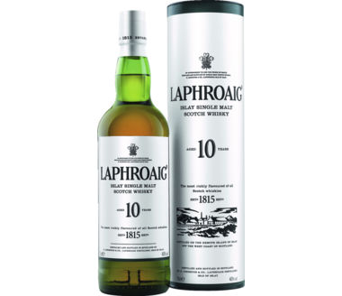 Laphroaig Islay Malt Scotch 10 Years old