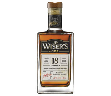 J.P. Wisers 18 years Blended Canadian Whisky