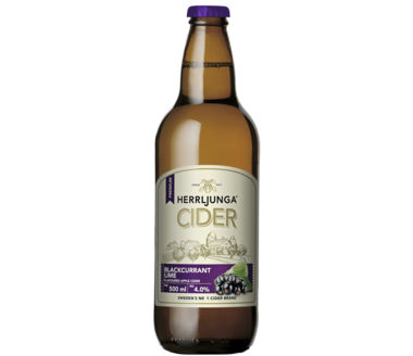Herrljunga Blackcurrant Lime Flavoured Pear Cider Premium Swedish