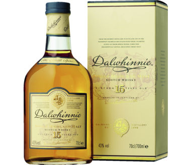 Dalwhinnie North-Highland Malt 15 Years Classic Malt Scotch Whisky