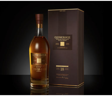Glenmorangie 18 Years old Single Highland Malt Scotch Whiskey