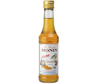 Monin Caramel Light Sirup (1+8) LIGHT