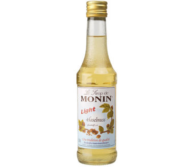 Monin Haselnuss Light Sirup (1+8) LIGHT