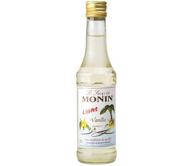 Monin Vanille Light Sirup (1+8) LIGHT