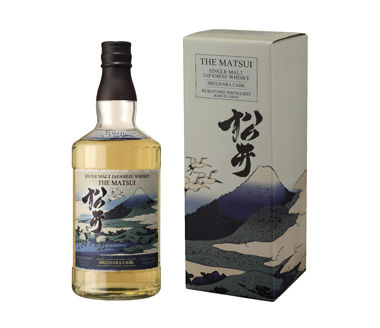 Matsui Single Malt Whisky Mizunara Cask Japanese Whisky