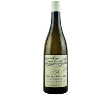 Weissburgunder Barrique No 34 Weingut Thomas Lehner Single Barrel