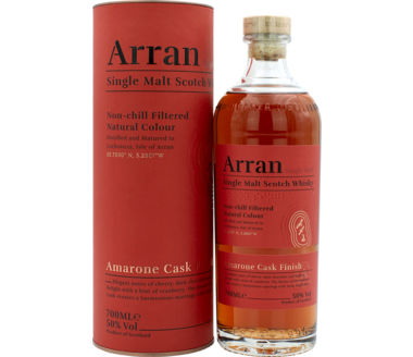 The Arran Amarone Cask Finish Single Malt Scotch Whisky