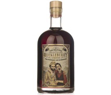 Huckleberry Gin Liqueur The Delicious