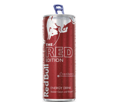 Red Bull Red Edition Energy Drink Cranberry