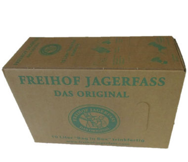 Freihof Jagertee fertig gemischt in der Bag in Box