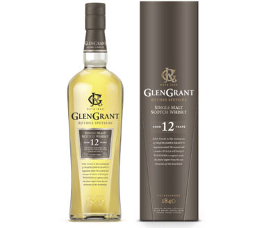 Glen Grant 12 Years Old Single Malt Scotch Whiskey
