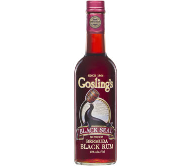 Goslings Bermuda Rum 80 Proof Black Seal