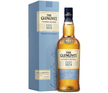 The Glenlivet Founders Reserve Single Malt Scotch Whisky ESTD 1824